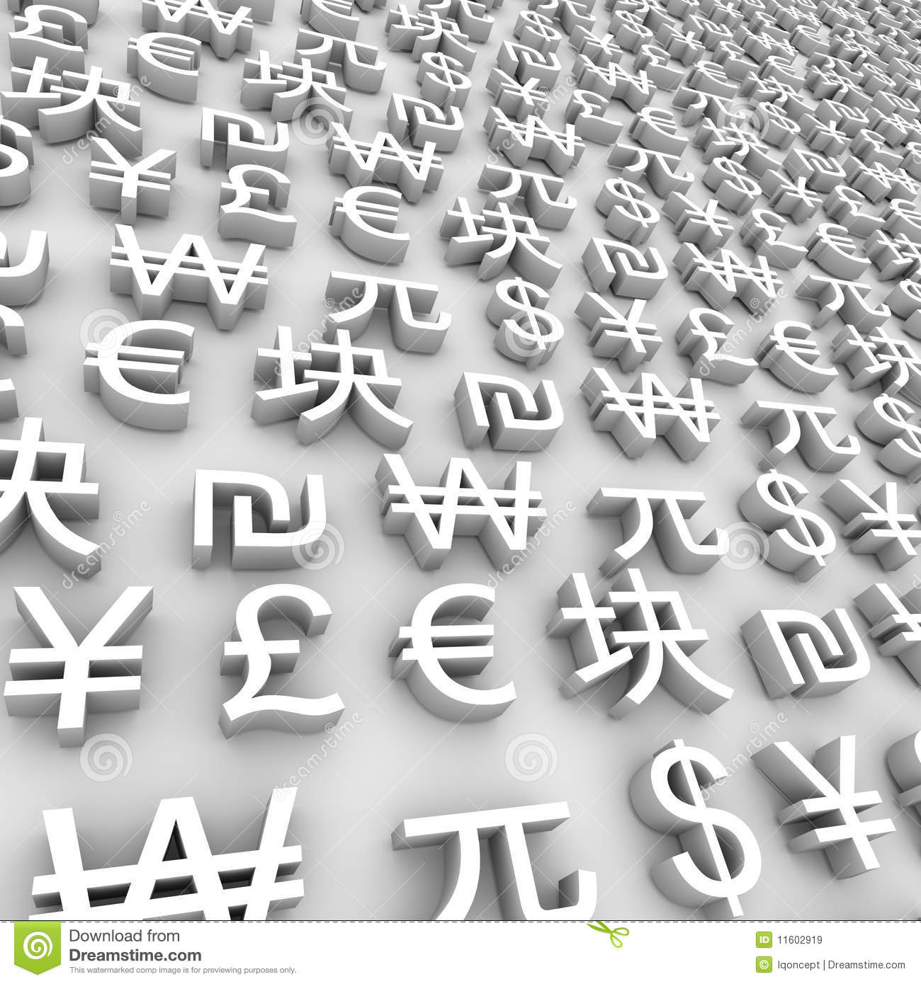 Global currency symbols white stock illustration illustration global currency symbols white biocorpaavc Choice Image