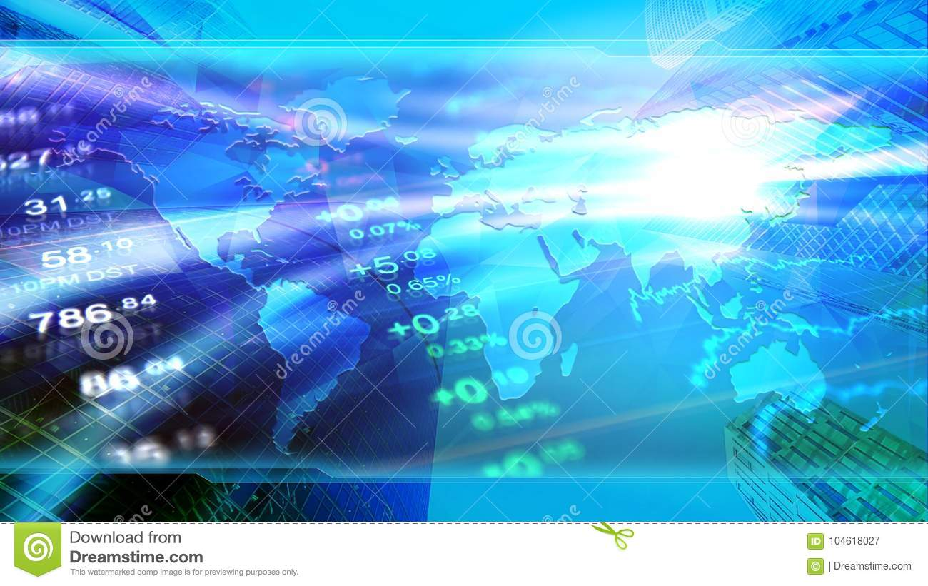global economy, finance, business, invest wallpaper. stock image