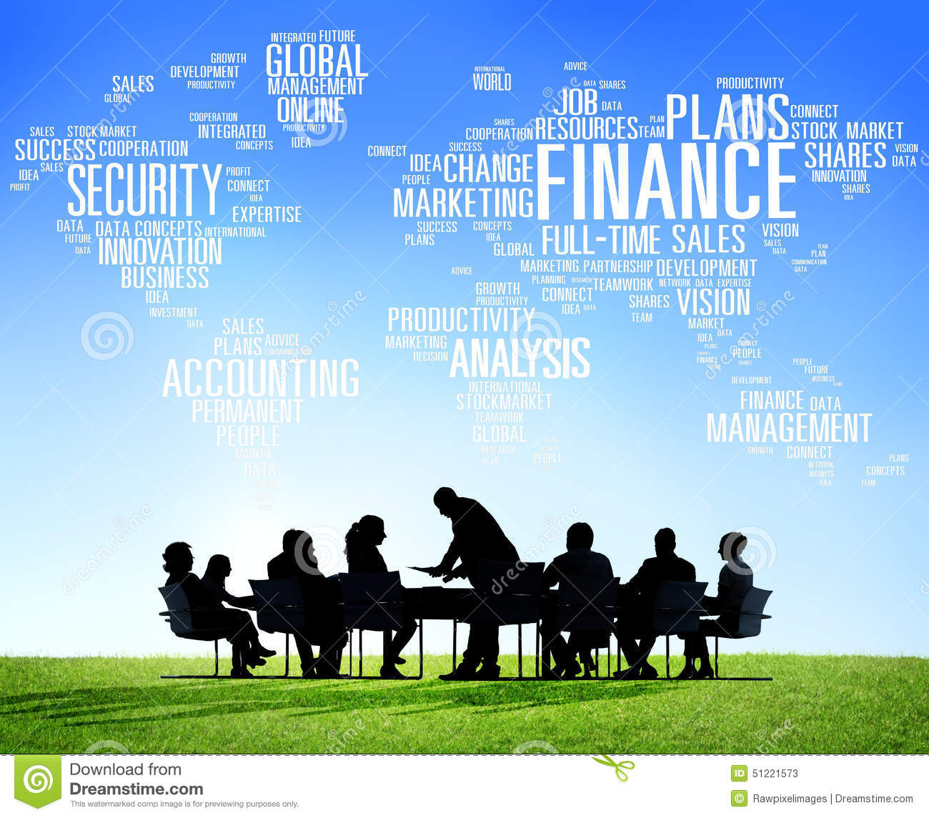 Finance: Global Finance Business Financial Marketing Money Concept