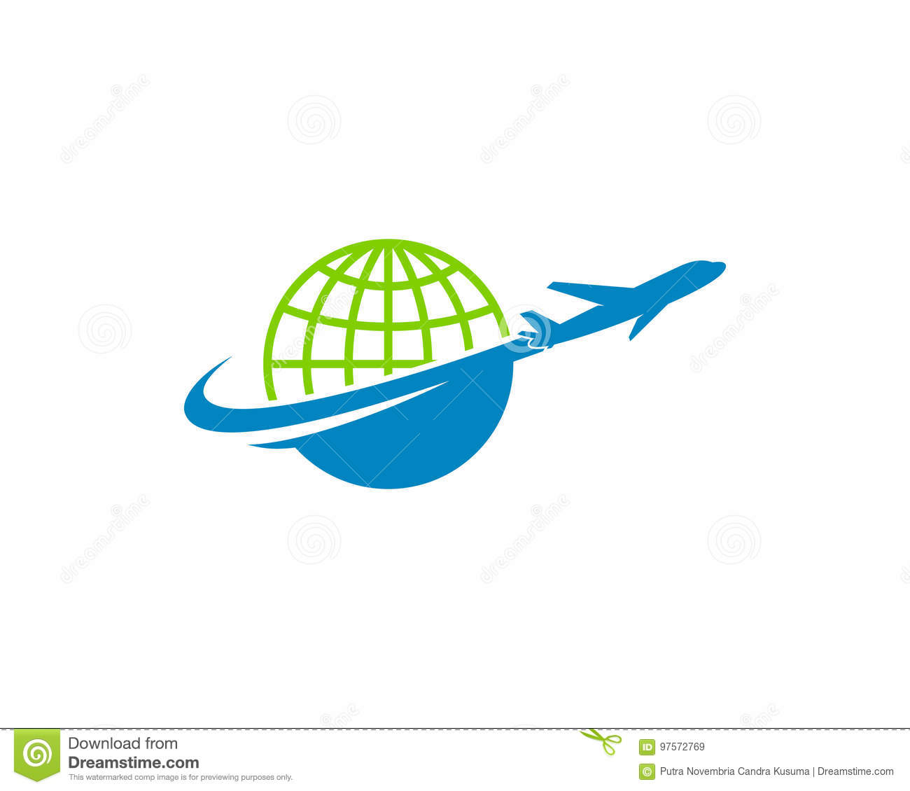 Download Global International Travel Icon Logo Design Element Stock Vector