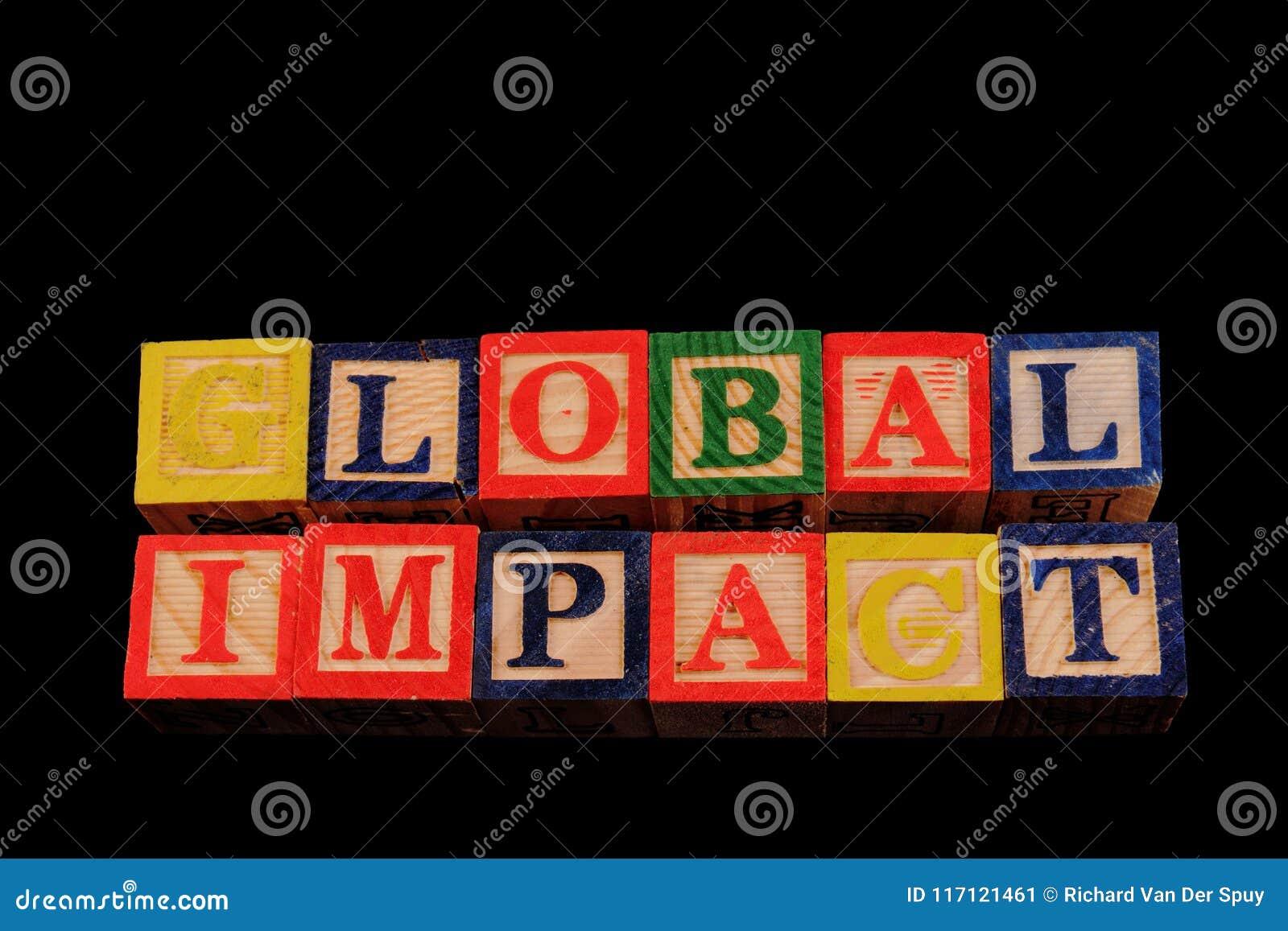 Global inverkan för uttryck som visas visuellt