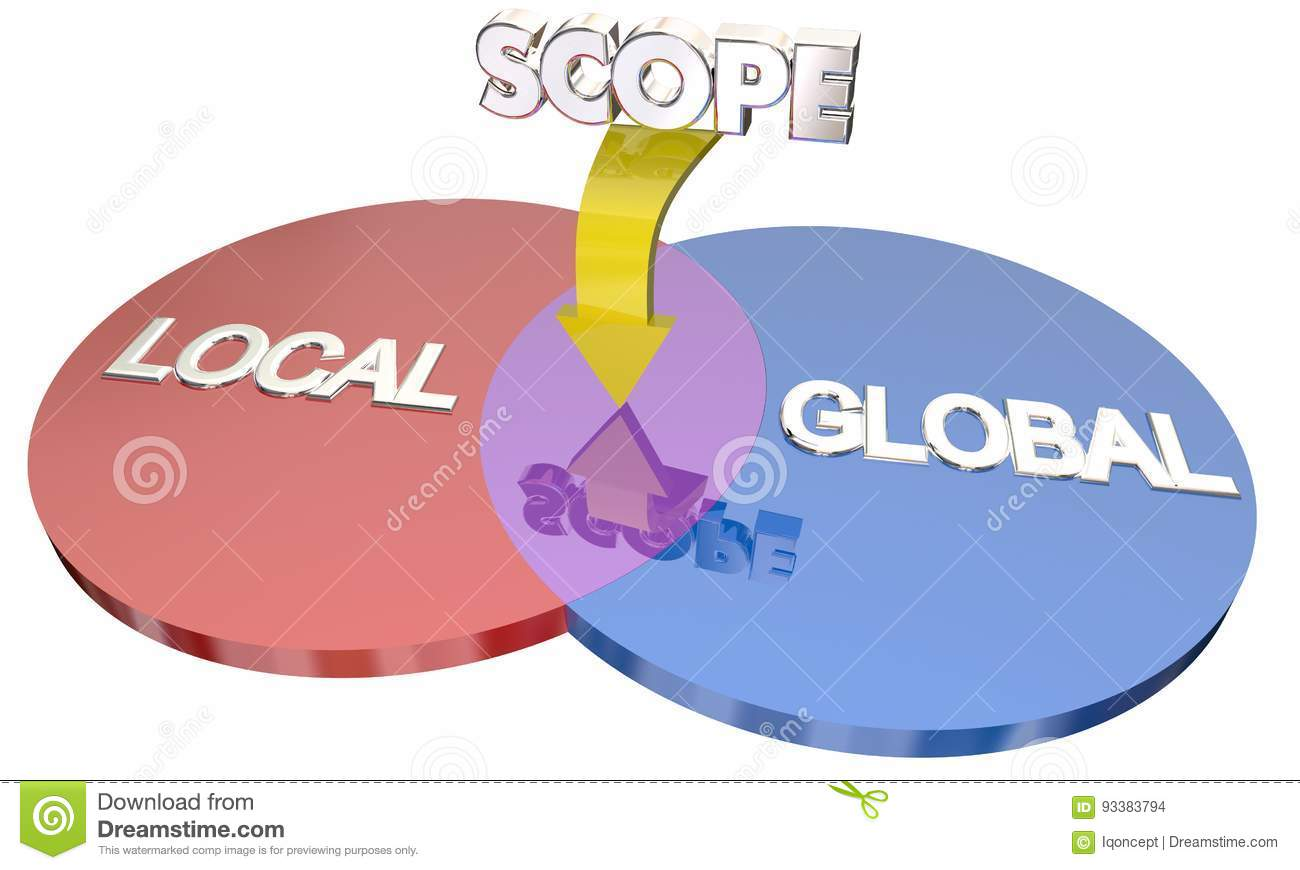 global local scope project action venn diagram global local scope project action venn diagram words d illustration 93383794 global local scope project action venn diagram stock illustration