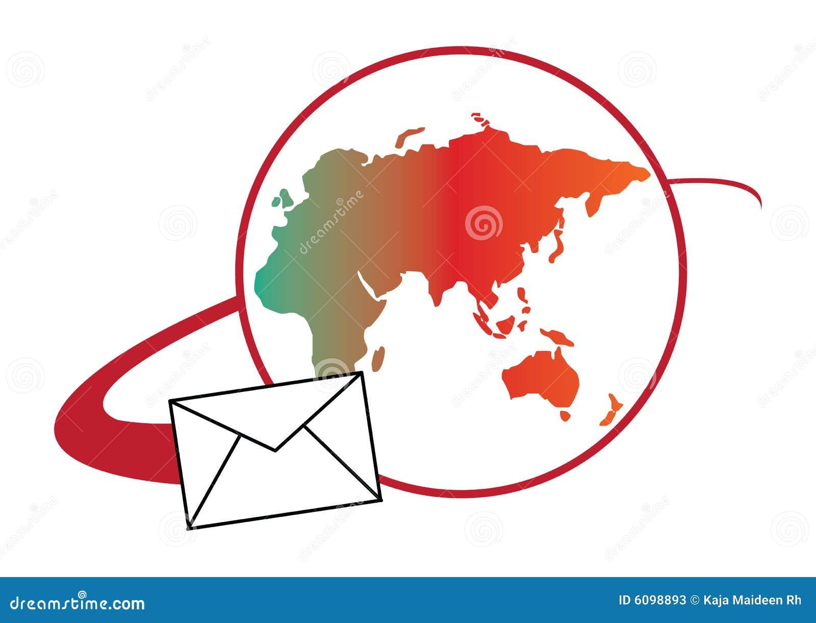 global mail logo concept stock photos image 6098893. Black Bedroom Furniture Sets. Home Design Ideas