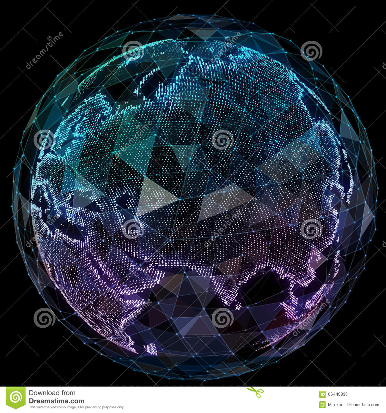 how to make a world globe out of a map