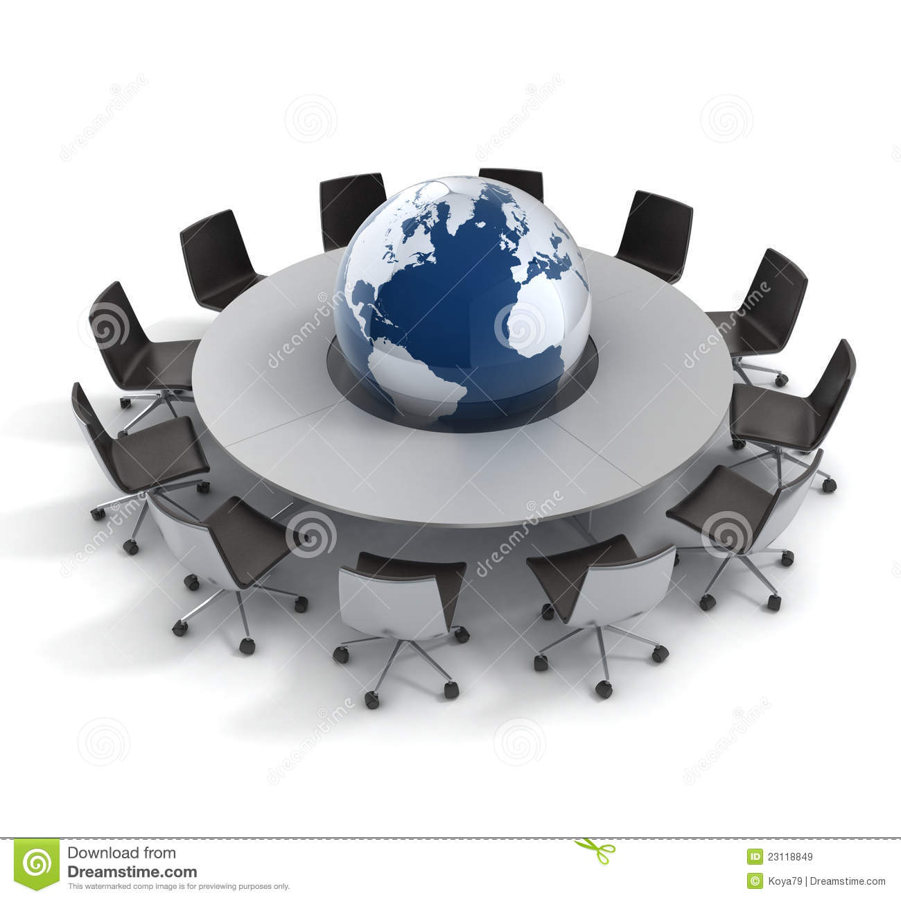 Round table meeting icon - Global Politics Diplomacy Strategy Environment Royalty
