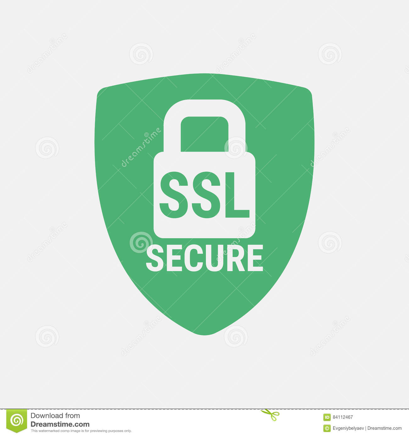 Global Ssl Security Icon Safe And Secure Web Sites On The Internet