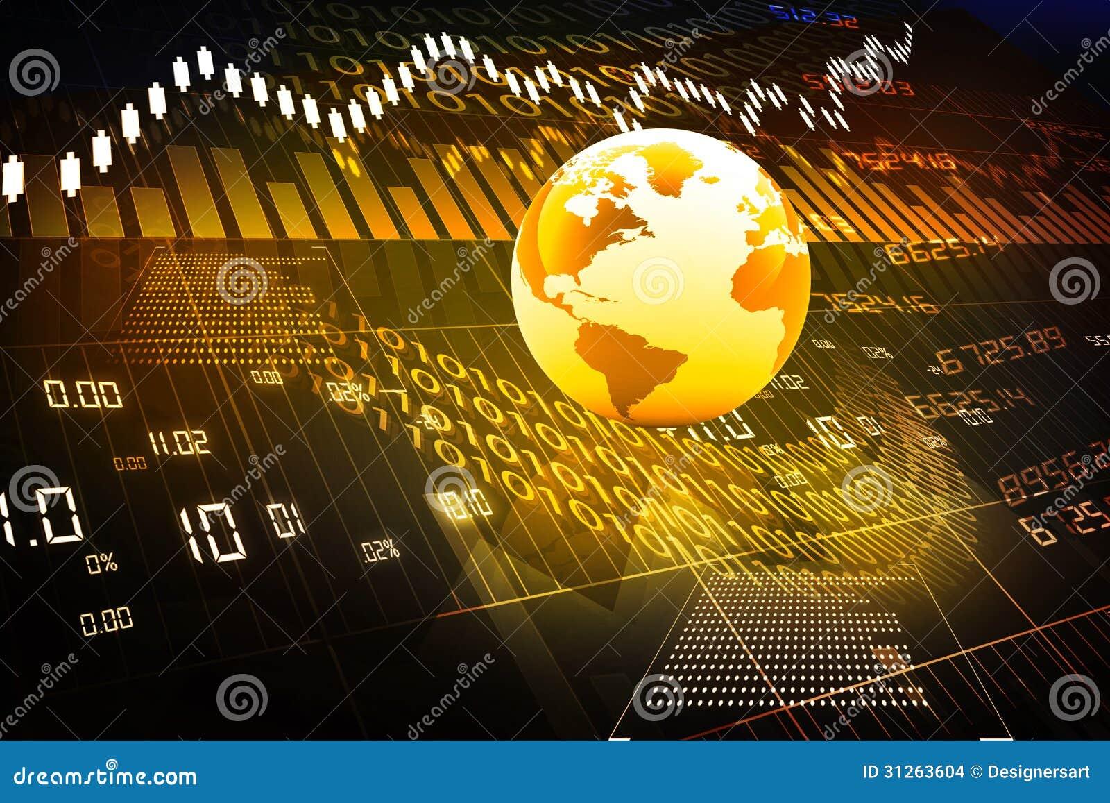 Global Stock Market Stock Images - Image: 31263604
