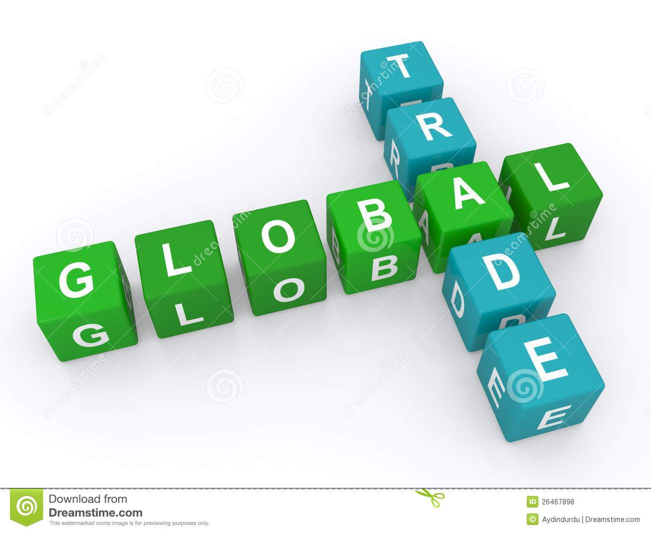 No Credit Check Credit Cards >> Global Trade Sign Royalty Free Stock Photos - Image: 26467898