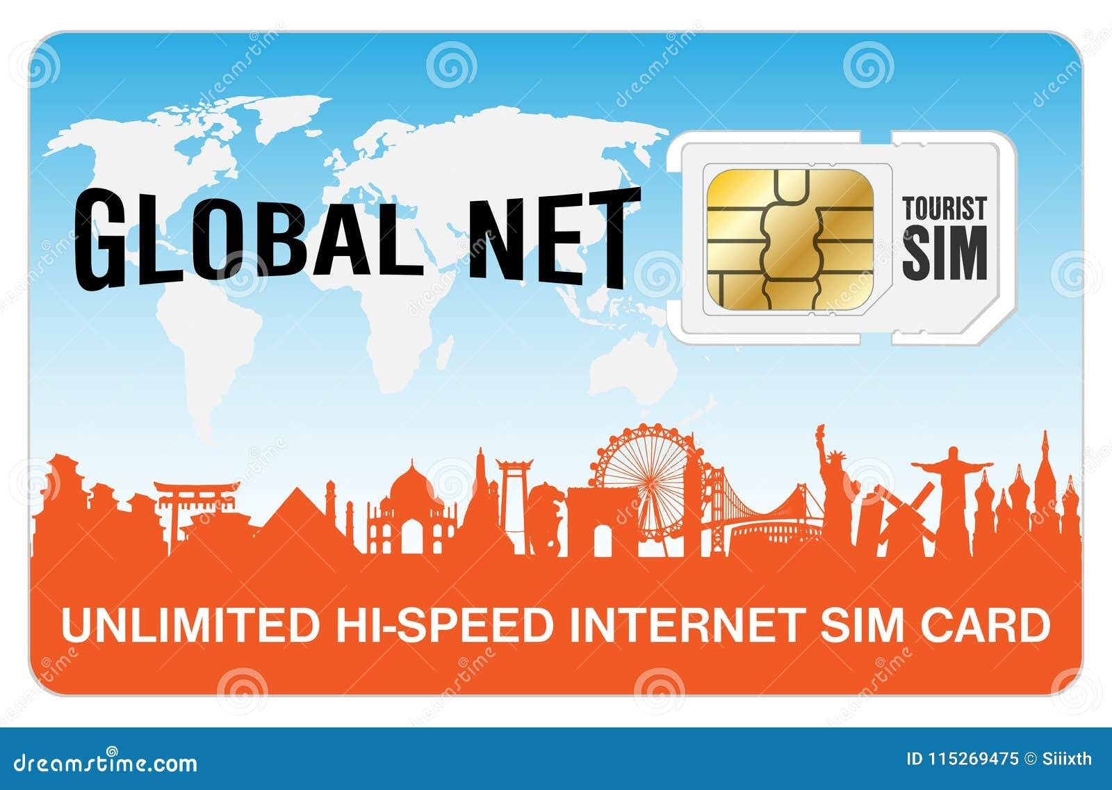 a global travel tourist internet smartphone sim card - Global Travel Card