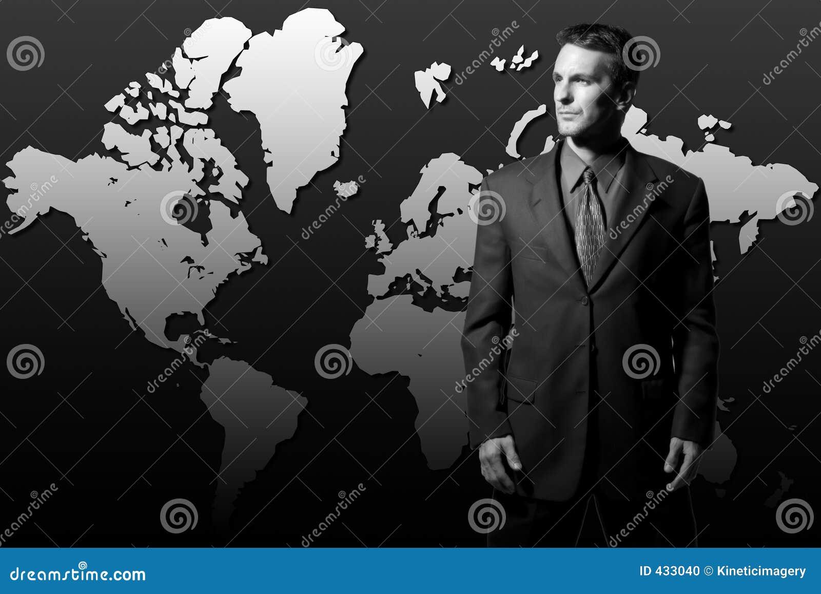 Global värld för affärsmandominans