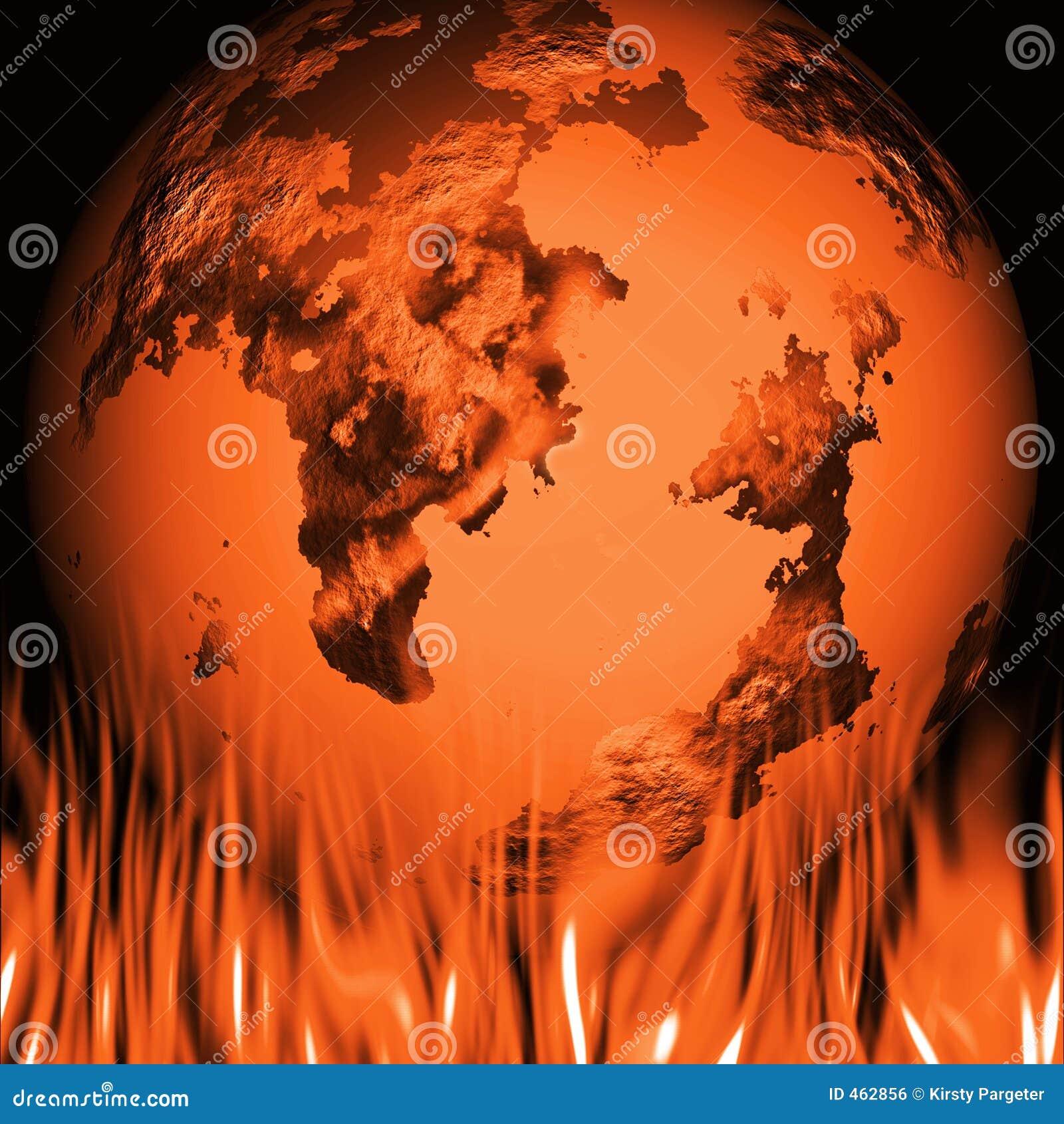 Download Global warming stock illustration. Illustration of burning - 462856