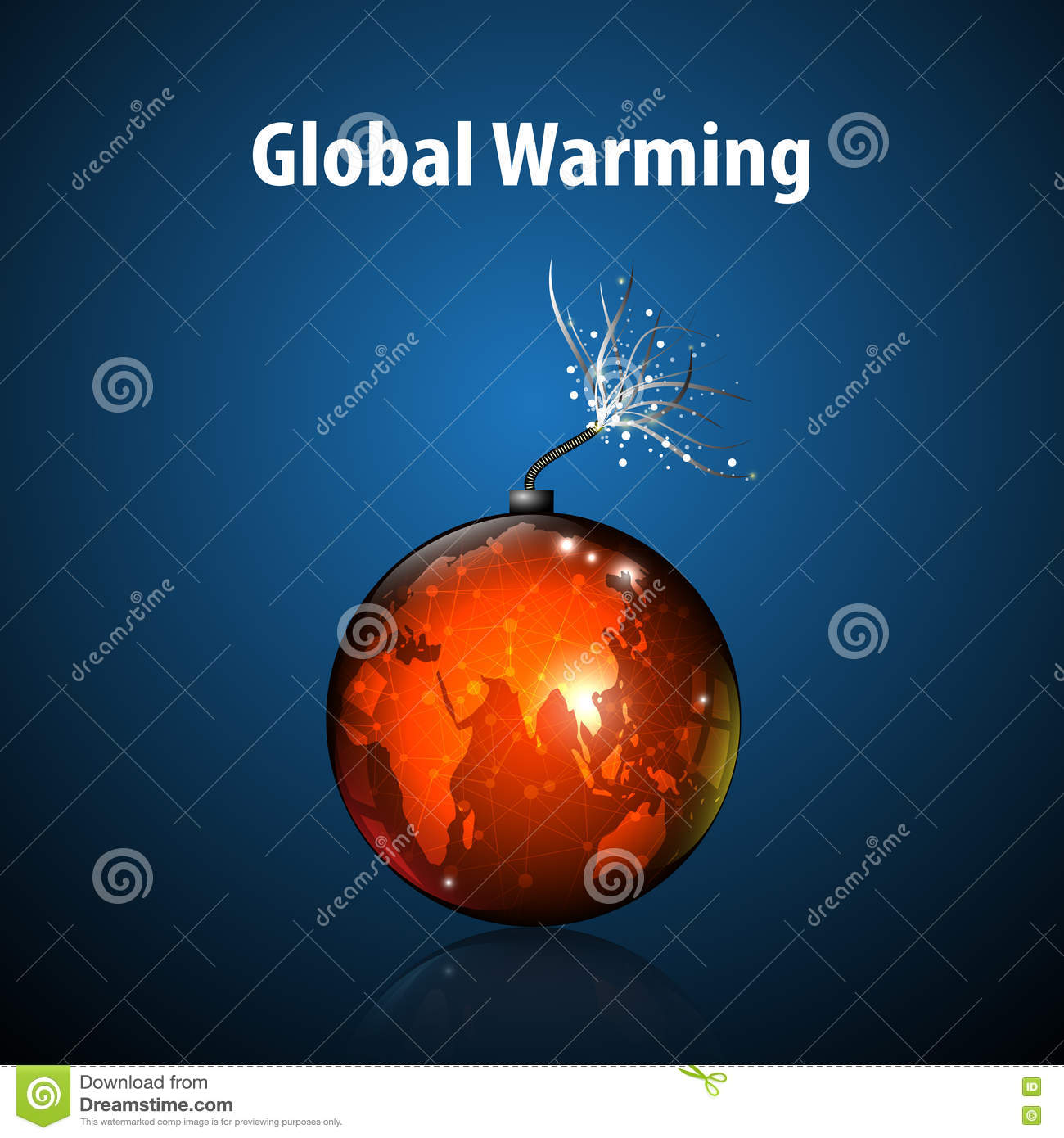I need an abstract about Global Warming?