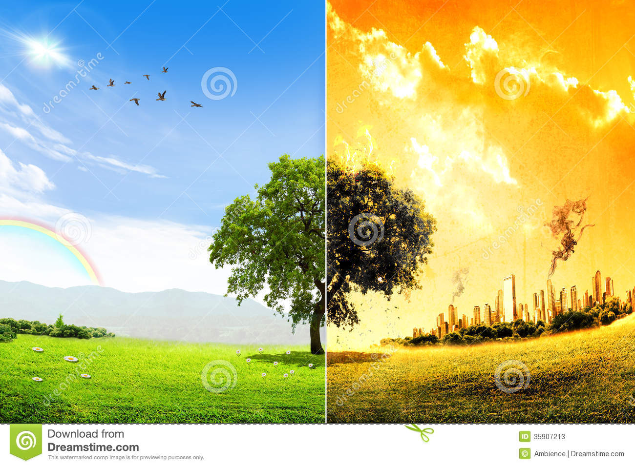 Global Warming Clipart