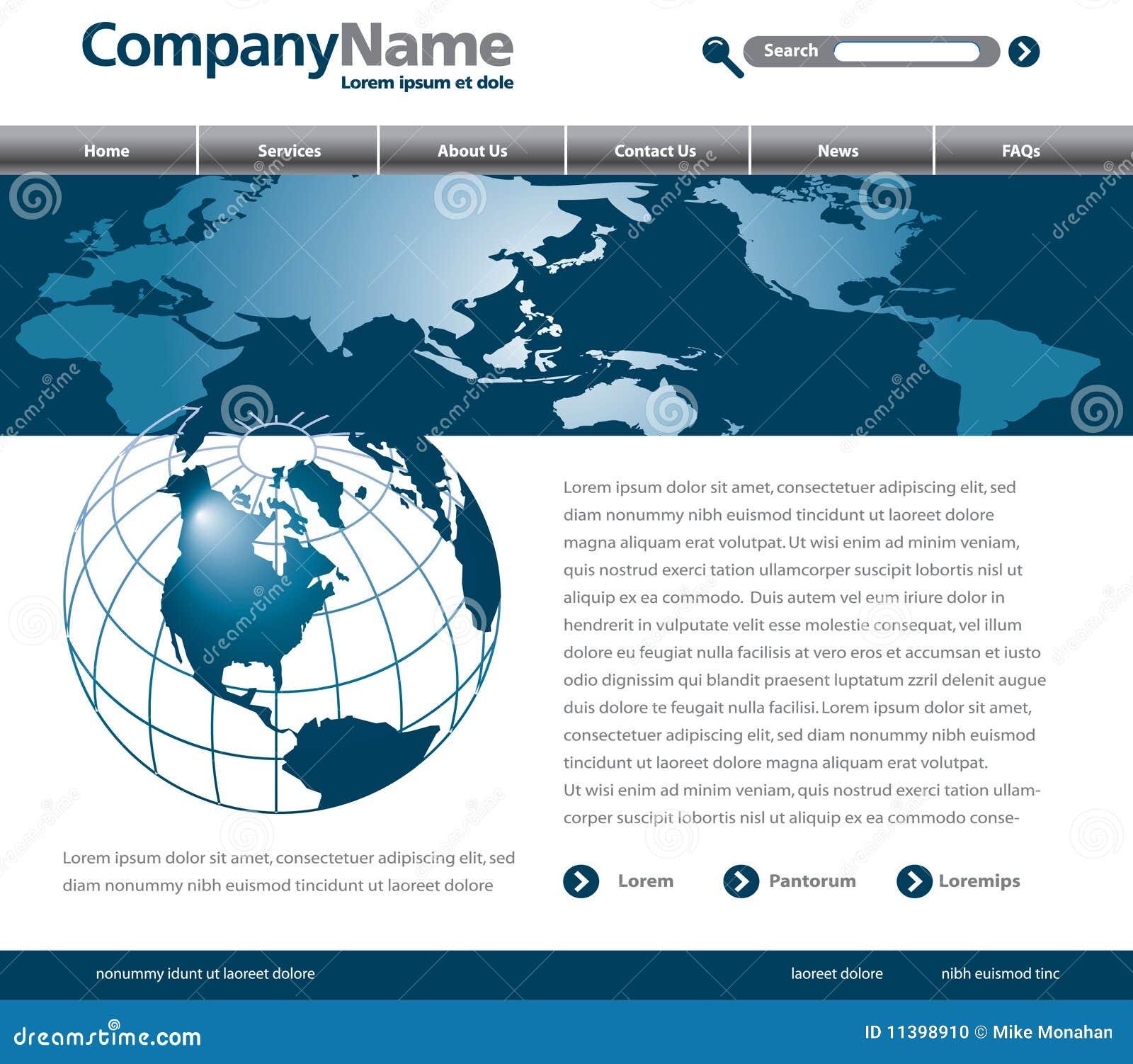 webpage design: