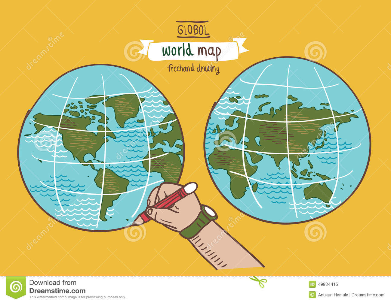 Global world map sketch vector stock vector illustration of global world map sketch vector royalty free vector download gumiabroncs Images