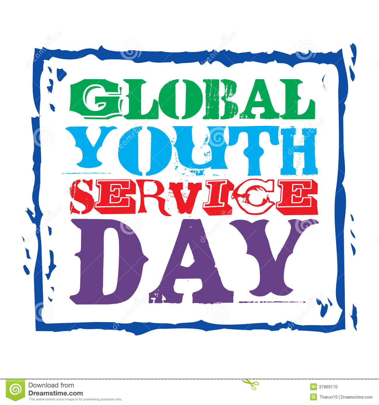 Fountain Of Youth Clipart Global youth service day stock