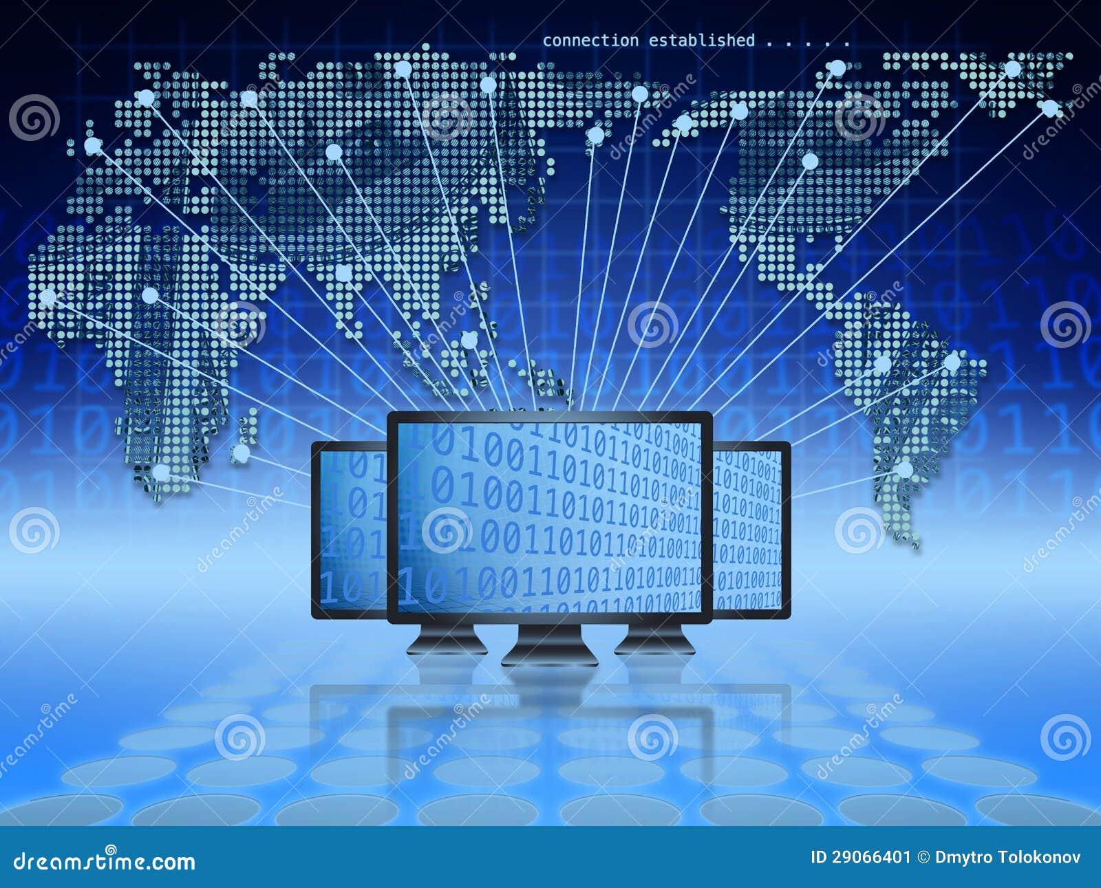 Globale elektronische handel
