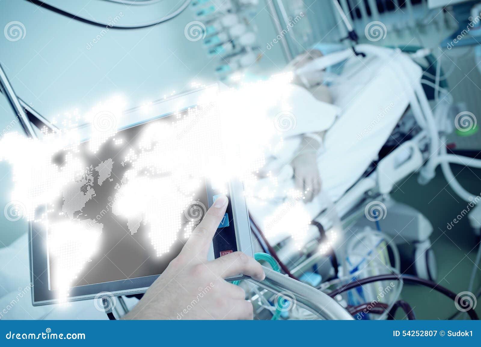 Globale mededeling in de medische industrie