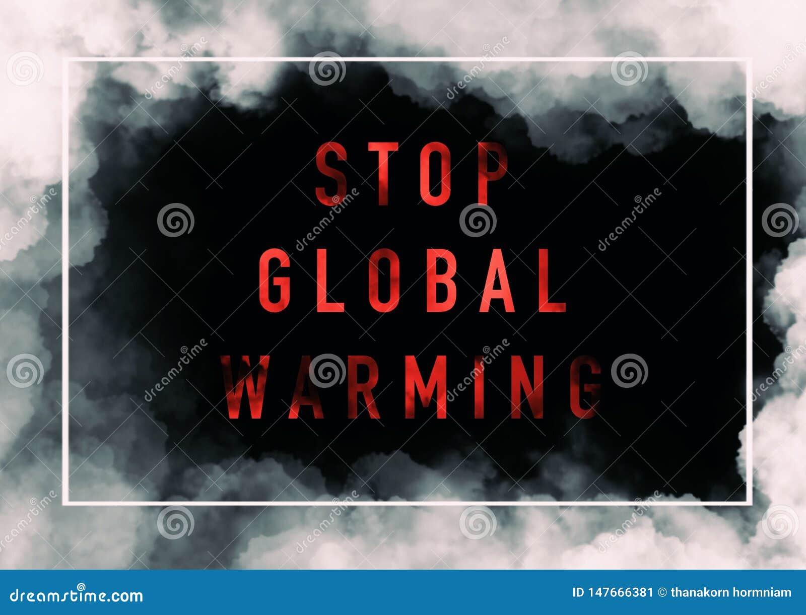 Globale Verwarmende Achtergrond