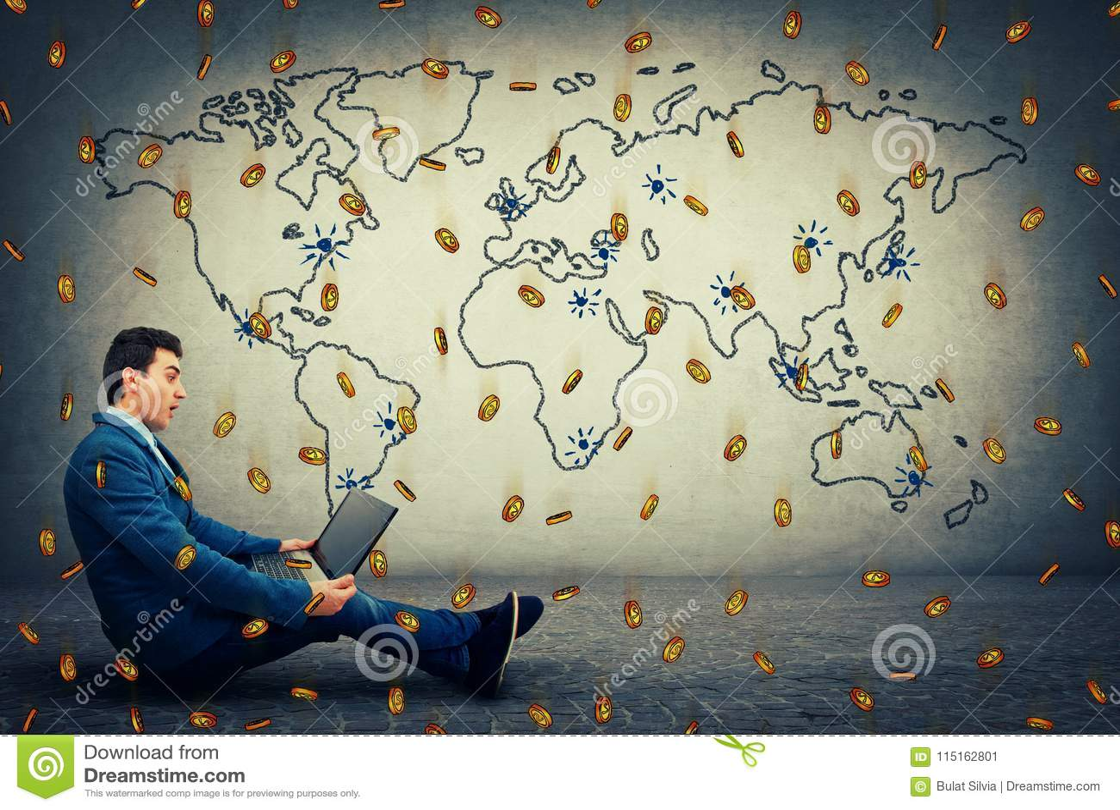 Globale virtuelle Währung