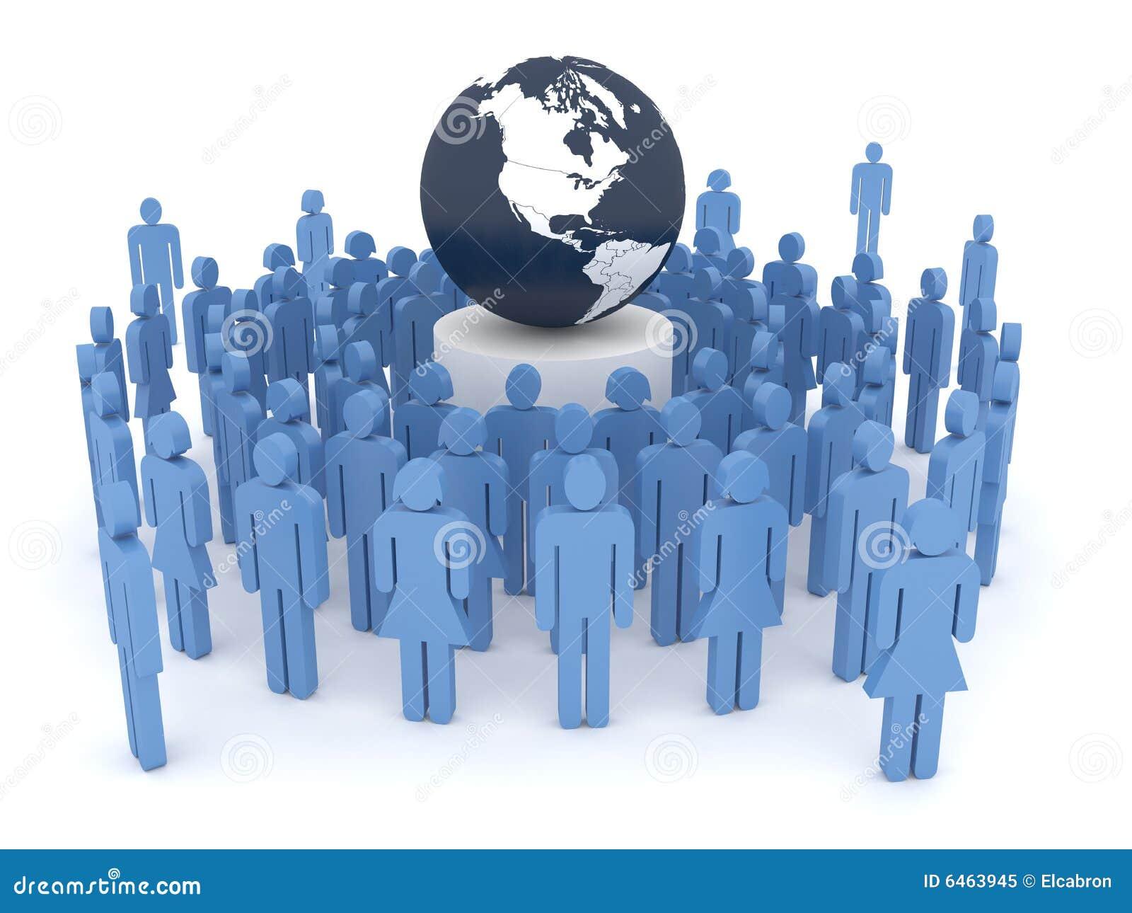 Globalisierung-Konzept