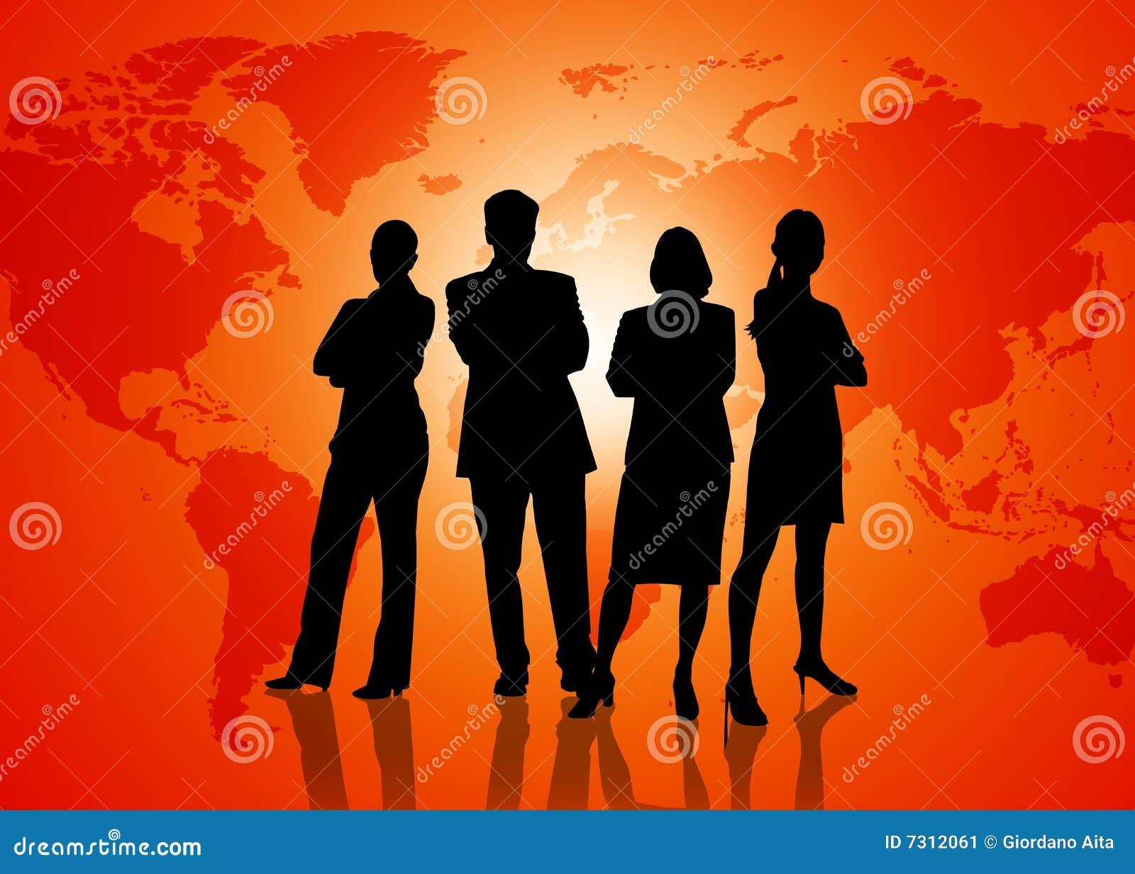 Globalization Business Stock Image - Image: 7312061