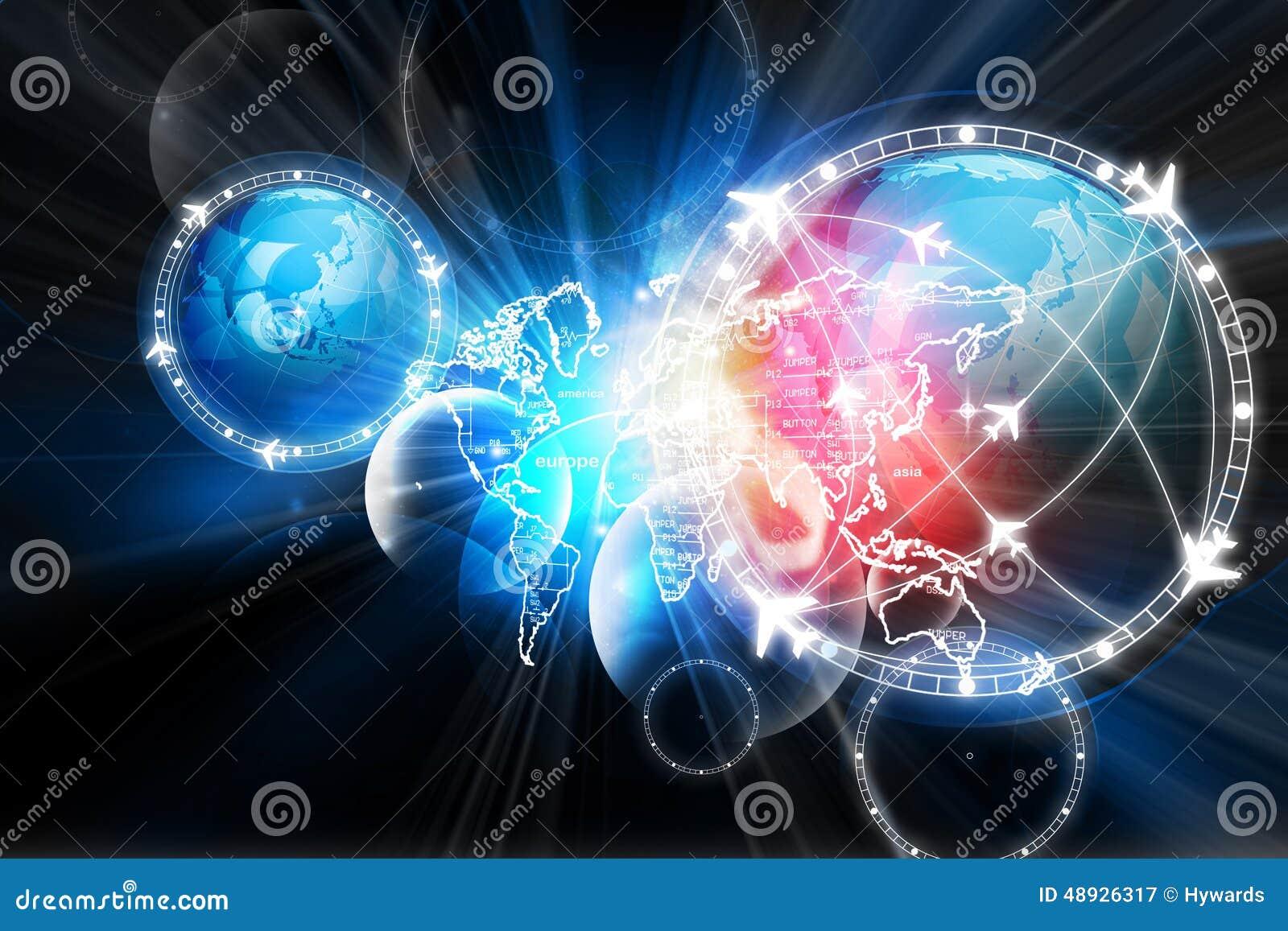 Globalna lot ścieżki sieć
