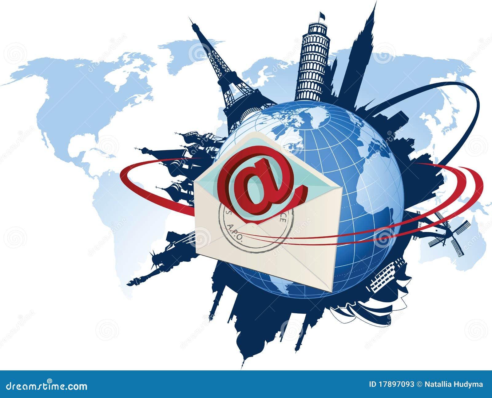 Globalna pojęcie poczta e