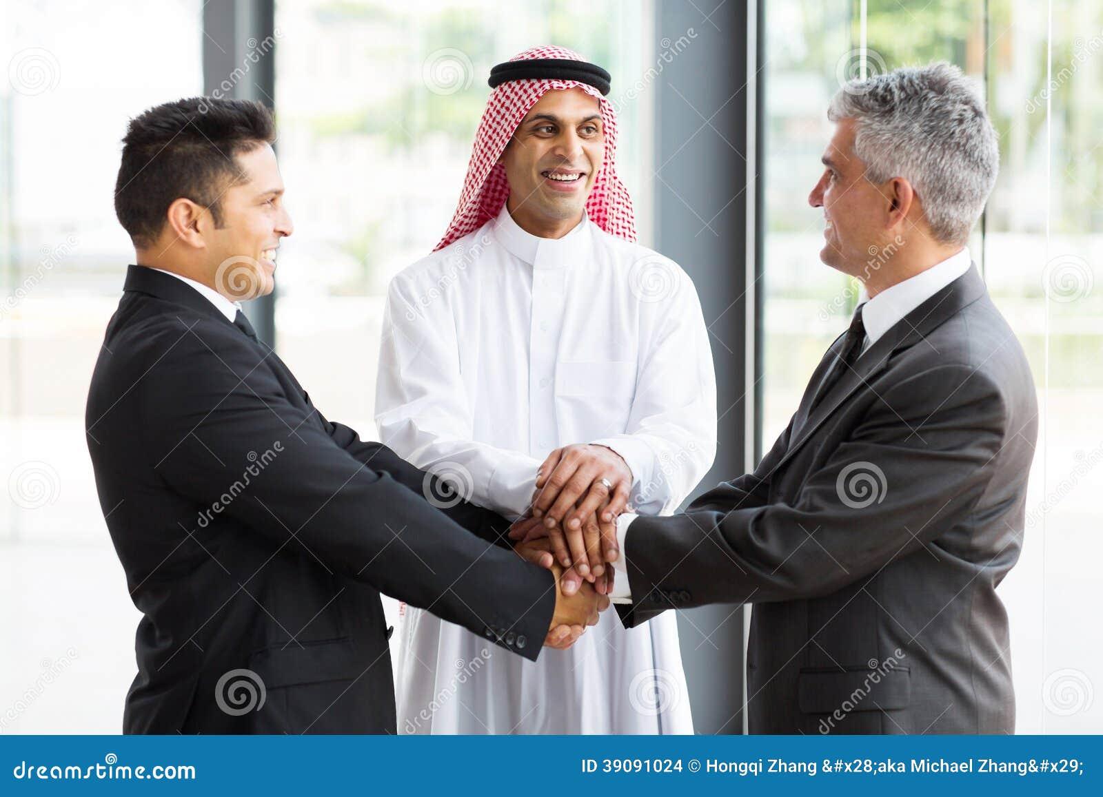 Globalnego biznesu drużyna
