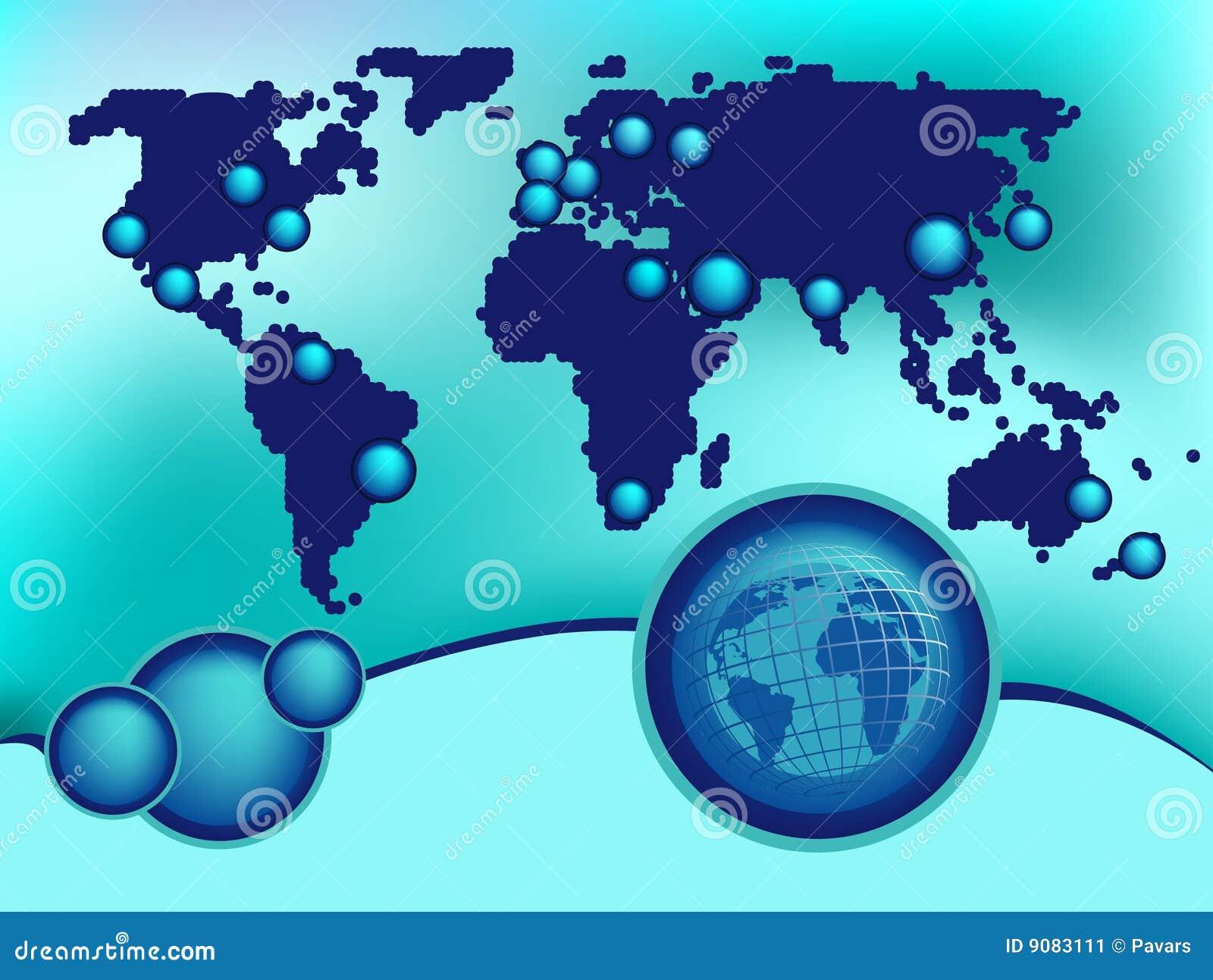 Globalny tło projekt