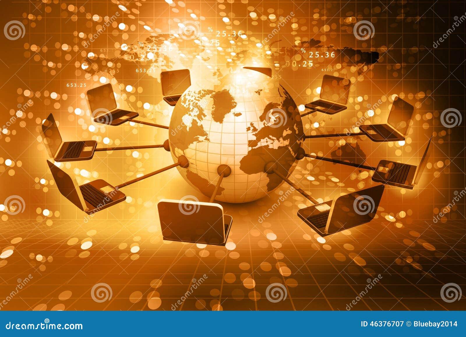 Globalt nätverk för dator