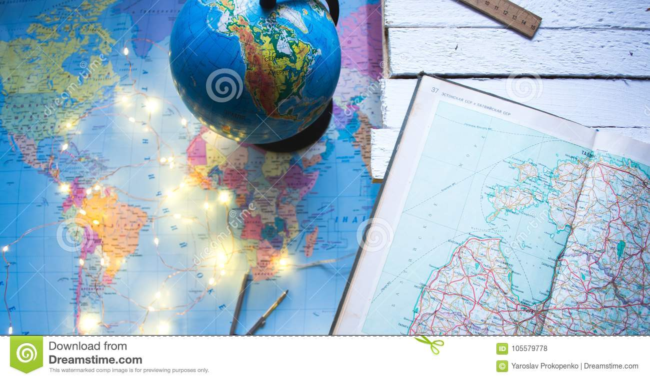 Globe on the background of the world map stock photo image of download globe on the background of the world map stock photo image of background gumiabroncs Image collections
