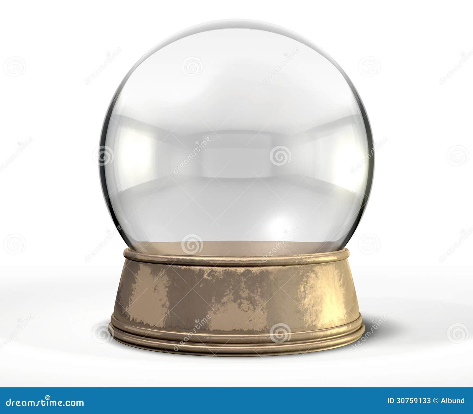 globe crystal ball de neige photos stock image 30759133. Black Bedroom Furniture Sets. Home Design Ideas