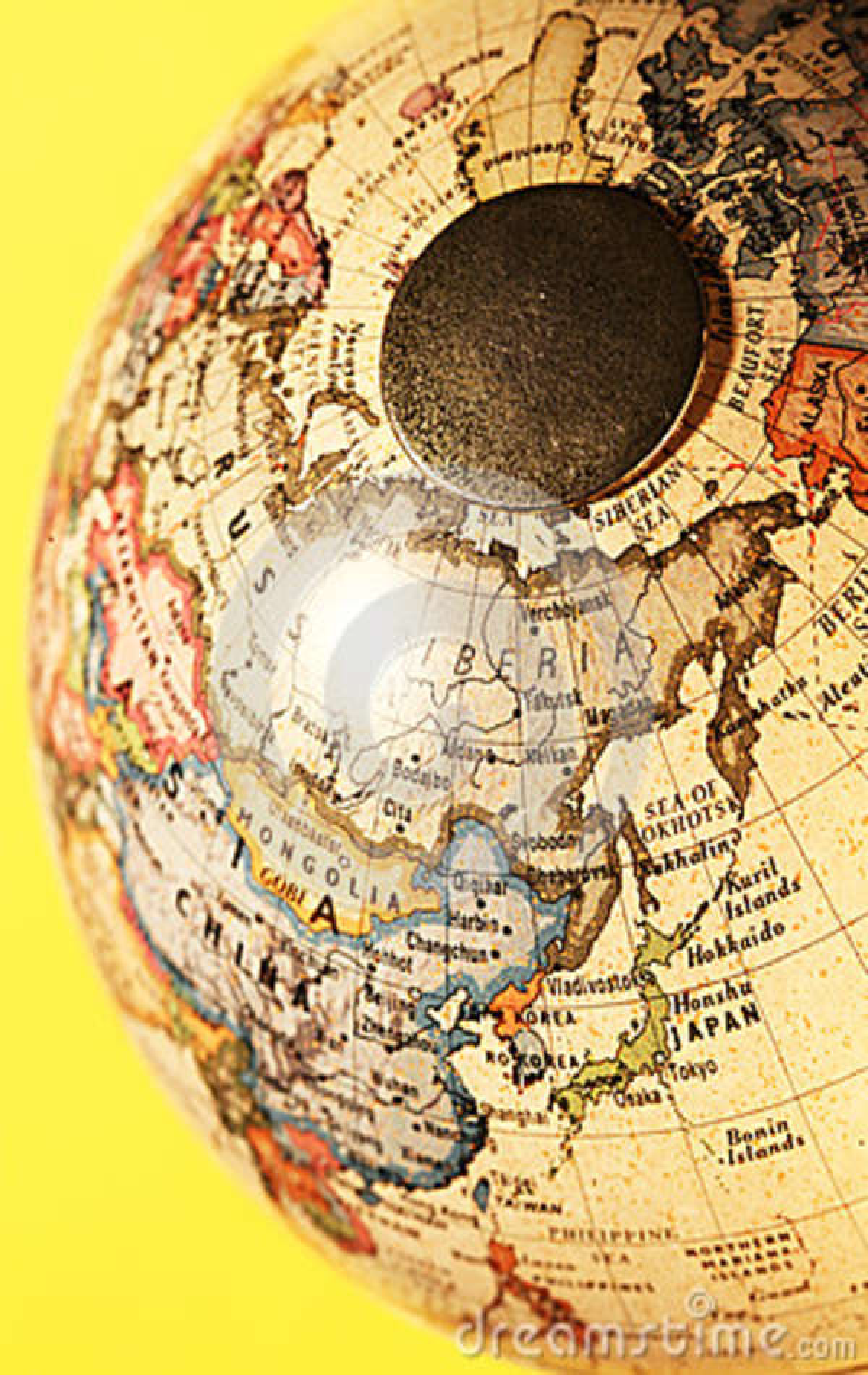 Globe de vintage