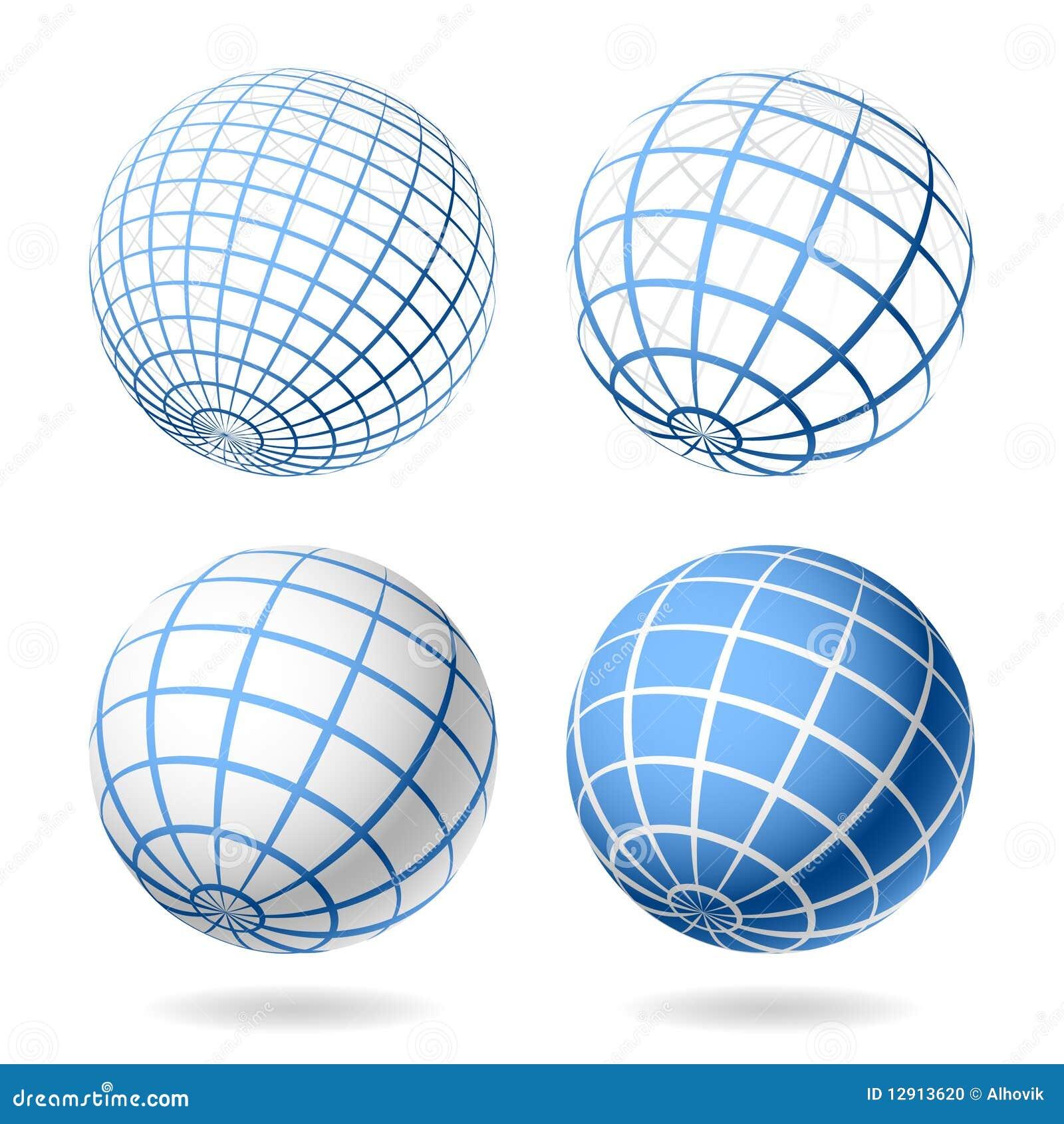globe design elements stock photo image 12913620. Black Bedroom Furniture Sets. Home Design Ideas