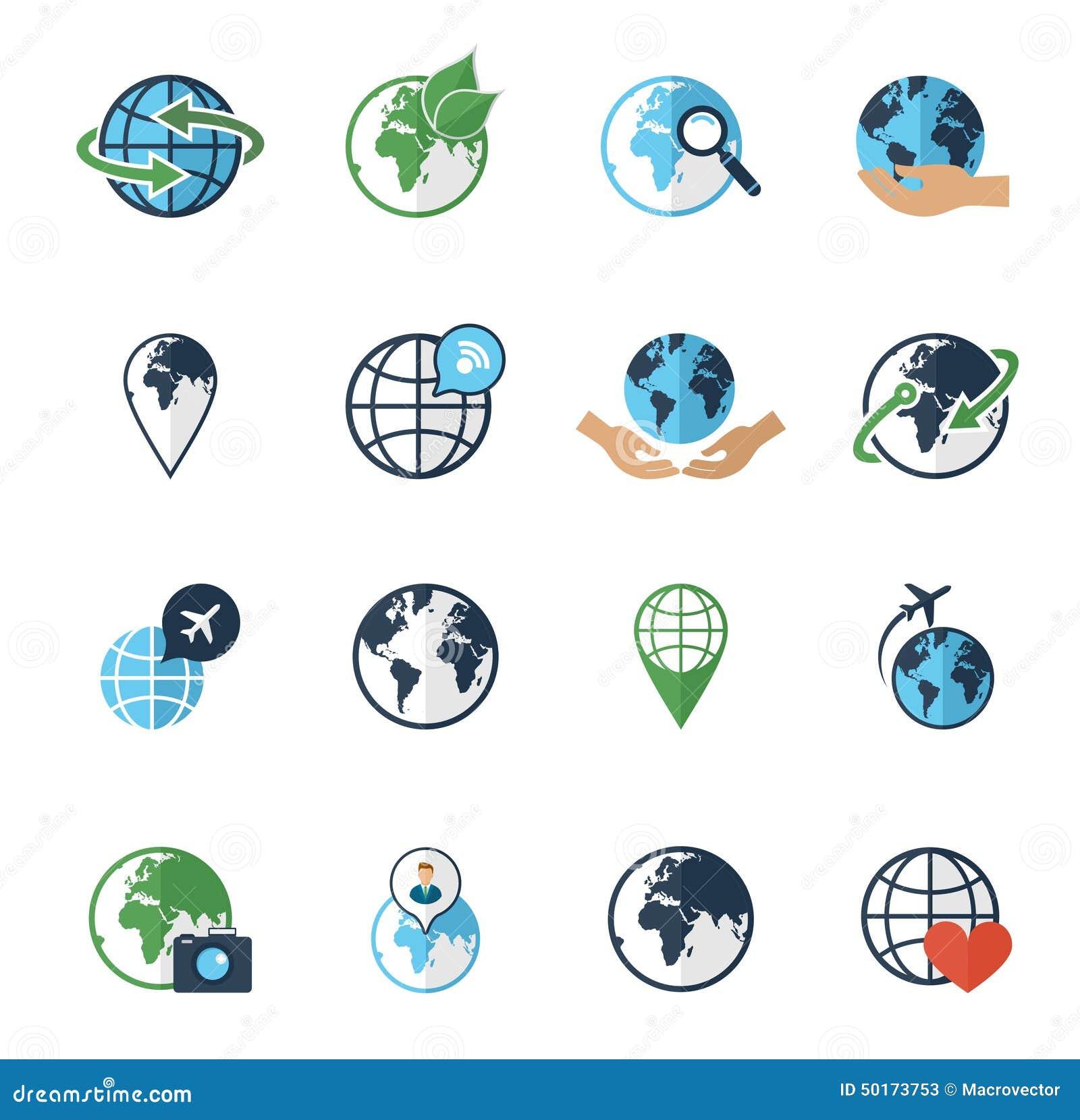 Flat Earth icon. Planet symbol illustration. Globe sign ...  Earth Flat Icon Eps