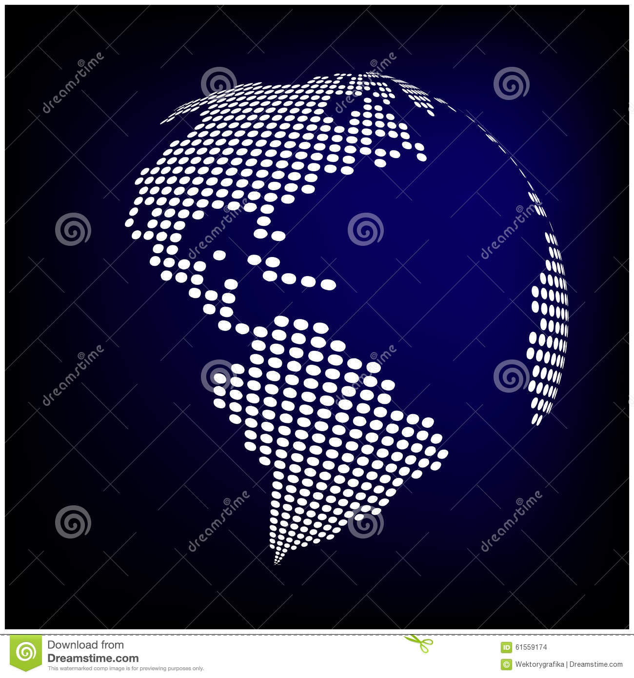 Vector abstract digital globe world map background stock vector globe earth world map abstract dotted vector background blue wallpaper illustration stock images gumiabroncs Image collections