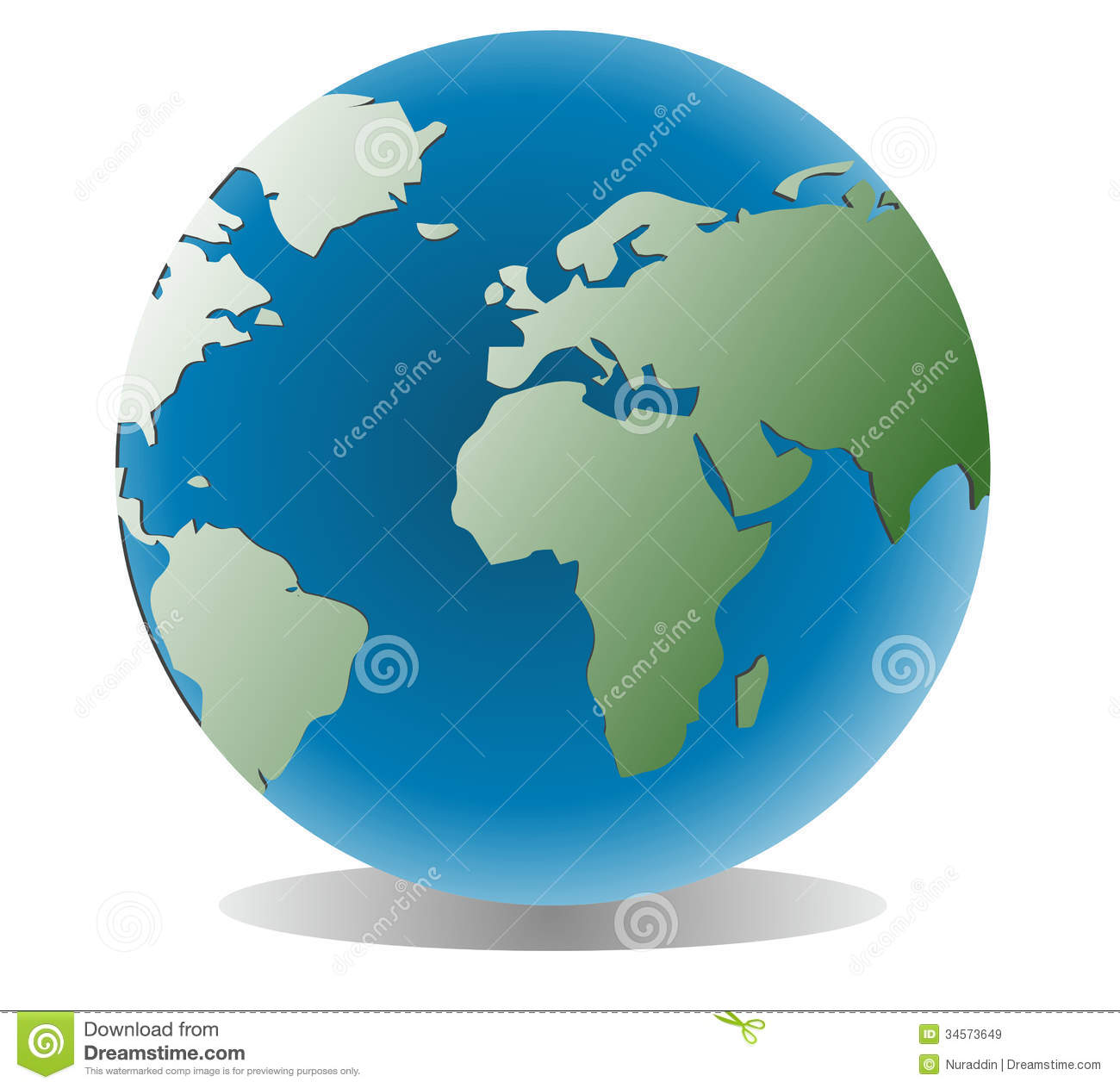 Globe Royalty Free Stock Images Image - Earth world map
