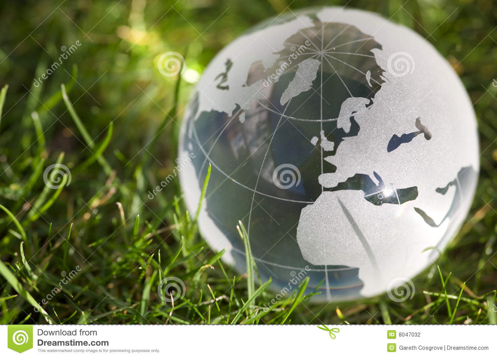Globe in glass