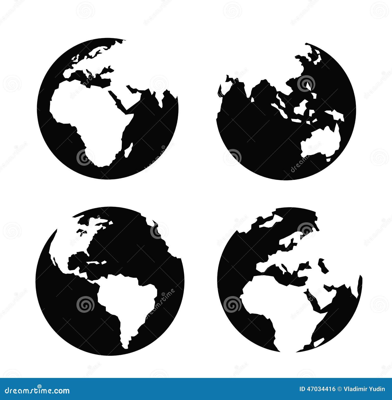 Globe icon stock vector illustration of label land 47034416 globe icon royalty free vector publicscrutiny Choice Image