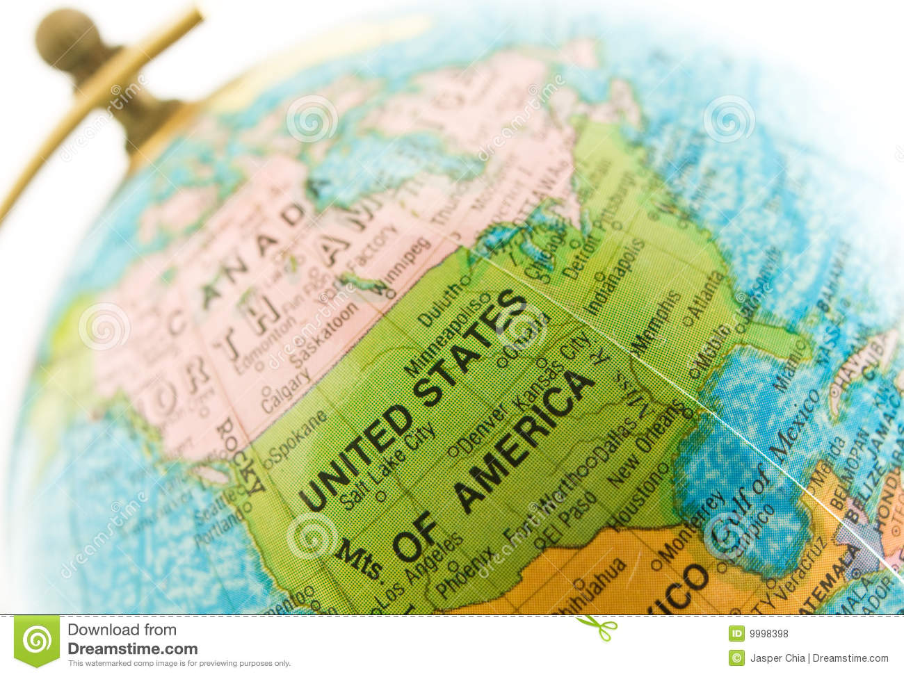 Globe On Location USA Royalty Free Stock Photos Image - Usa location
