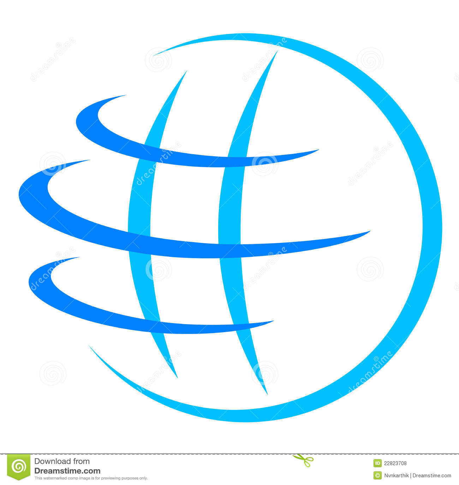 Globe Logo Royalty Free Stock Photos Image 22823708