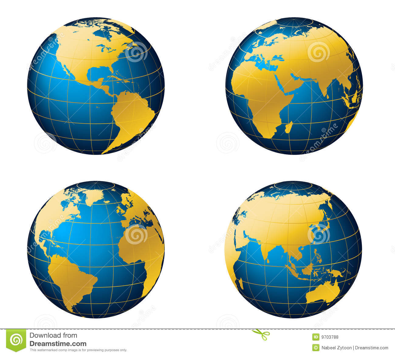 Globe Map Of The World Royalty Free Stock Photos Image - Map of globe