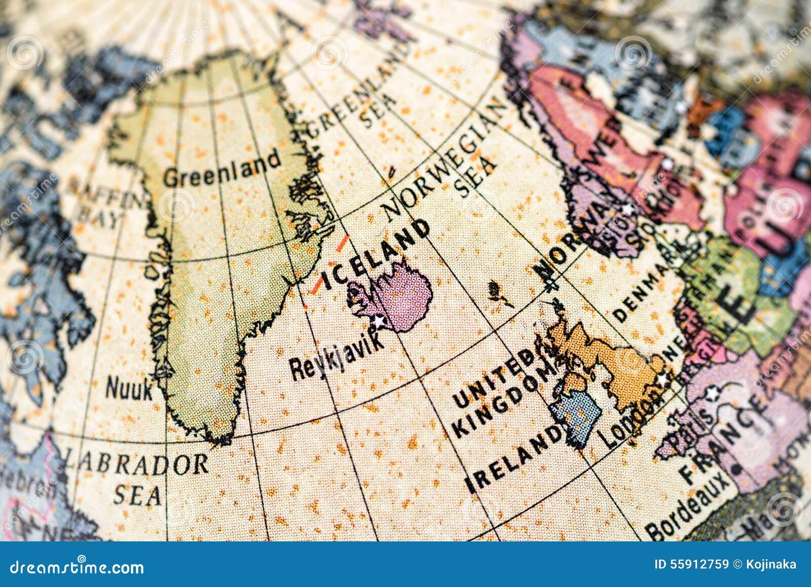 Globe Northern Europe stock image. Image of earth, belgium - 55912759
