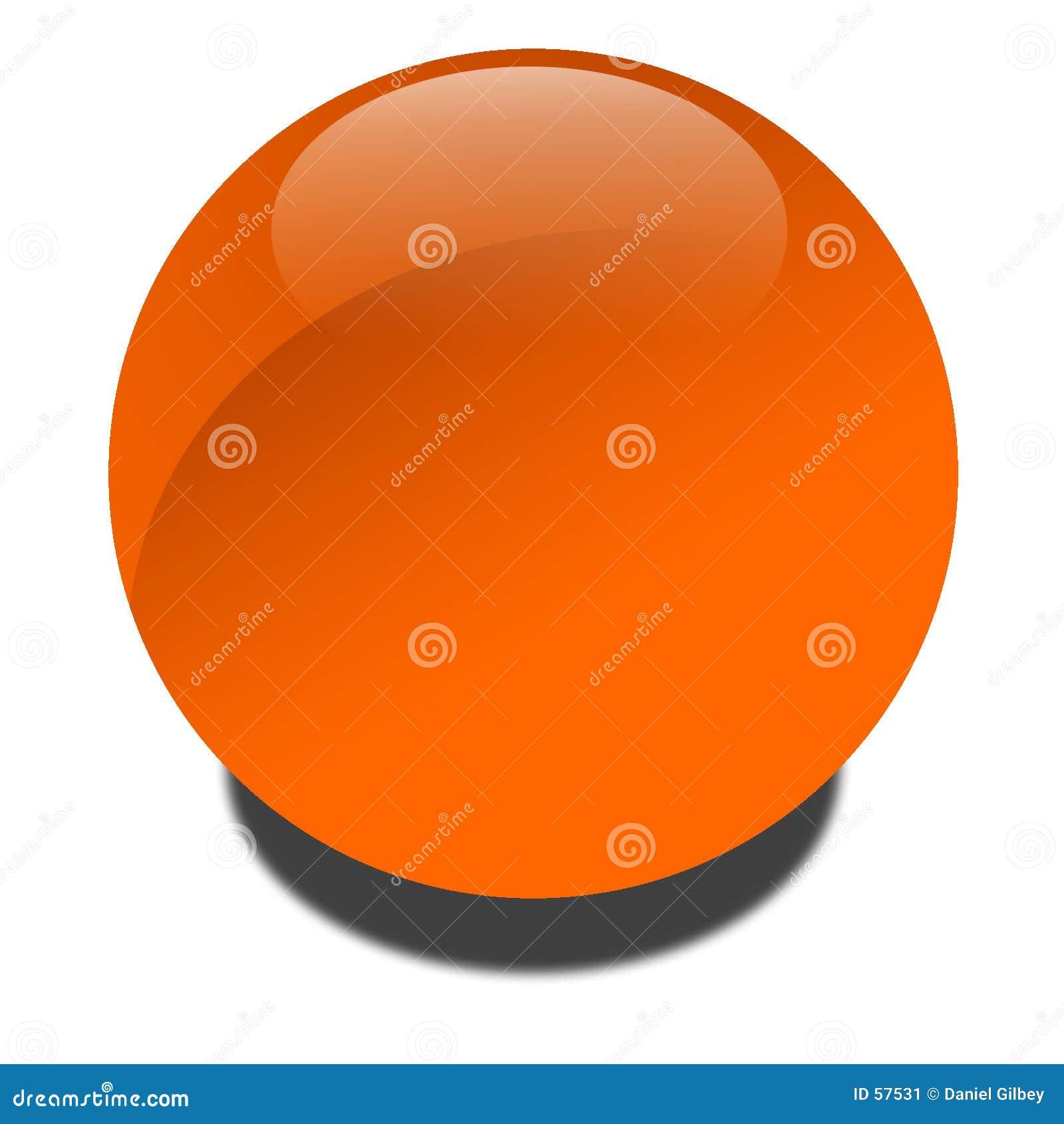 Download Globe orange illustration stock. Illustration du bille, rond - 57531