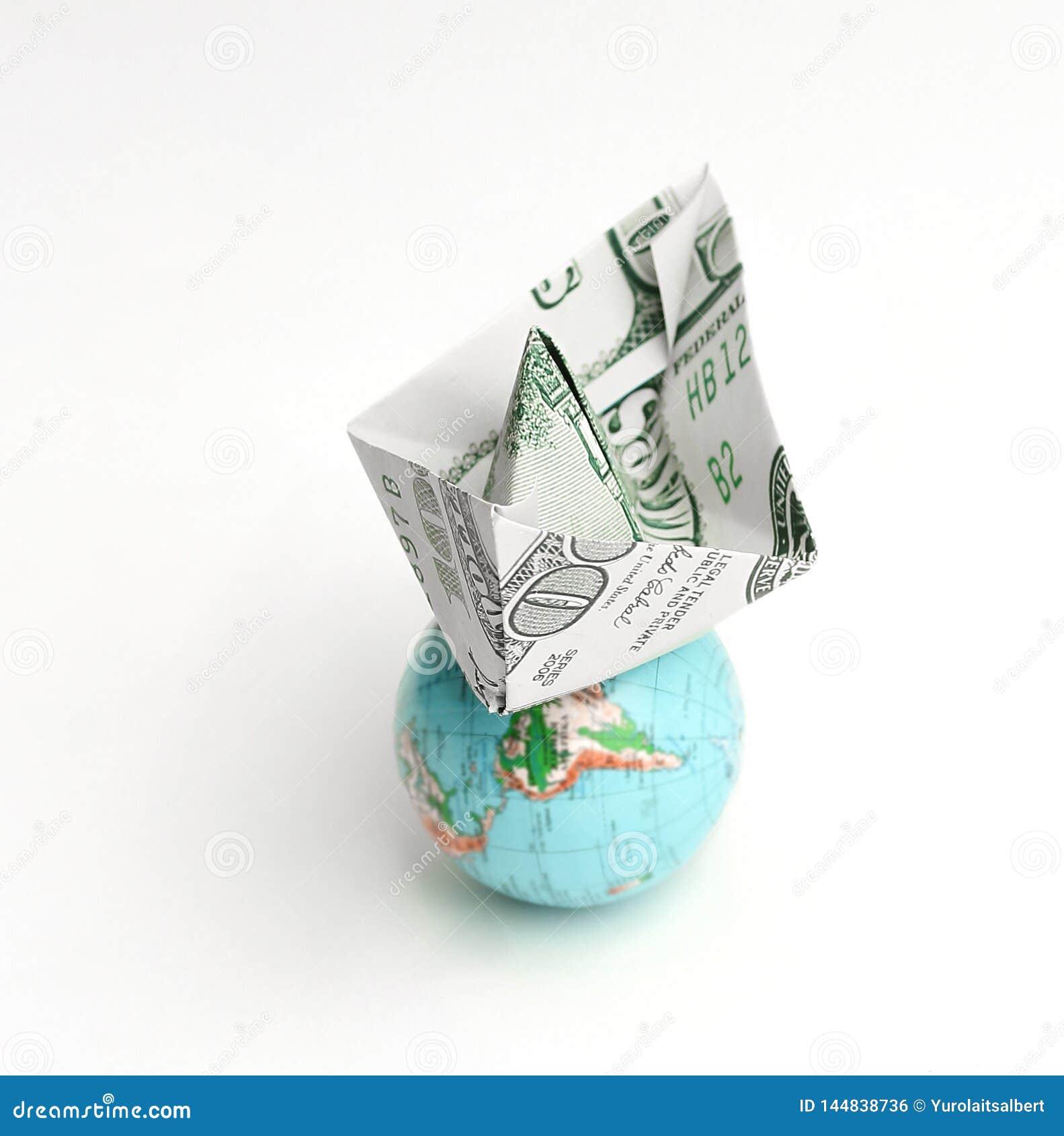 Money Origami Boat | 1689x1584