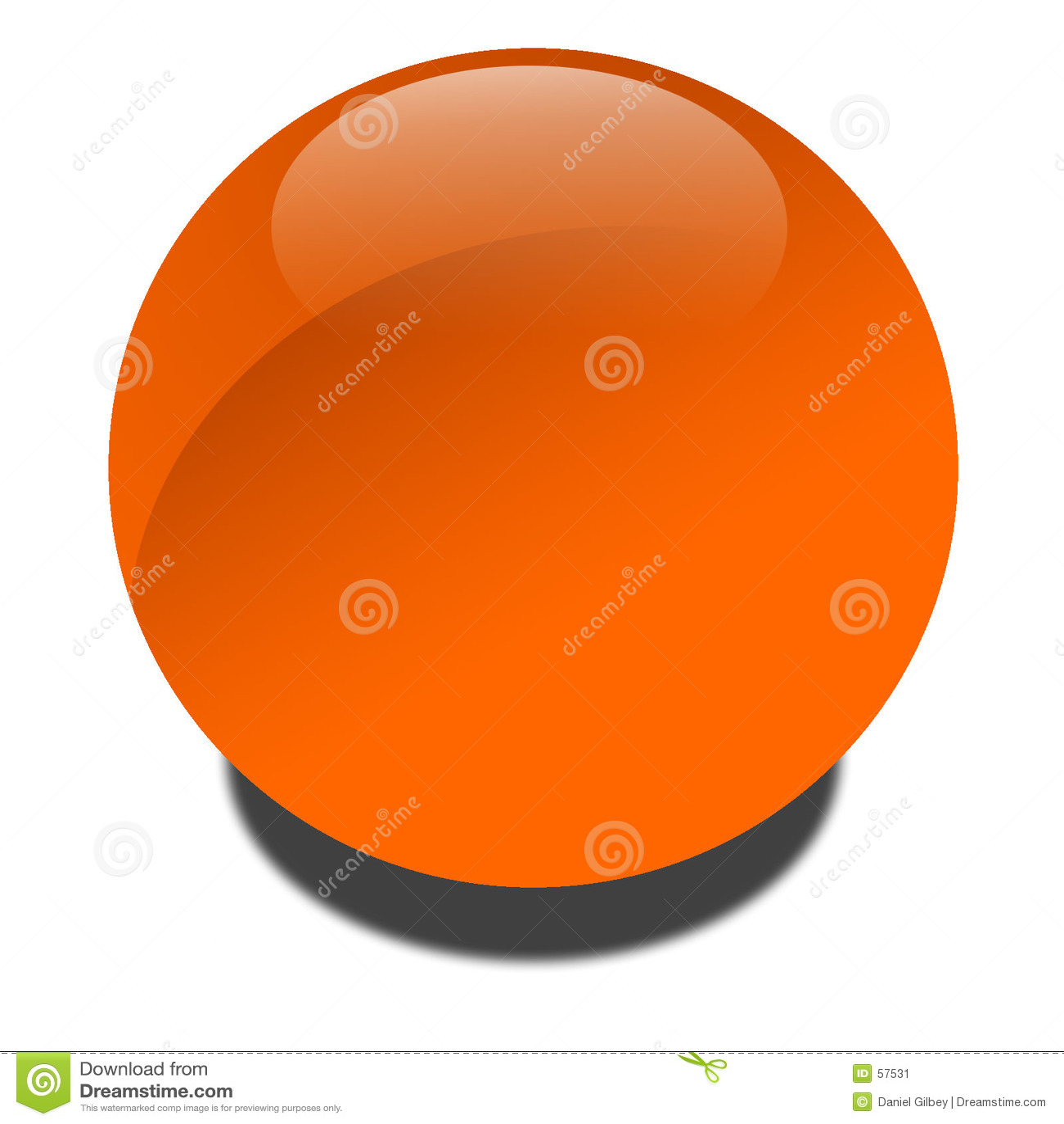 Globe pomarańcze