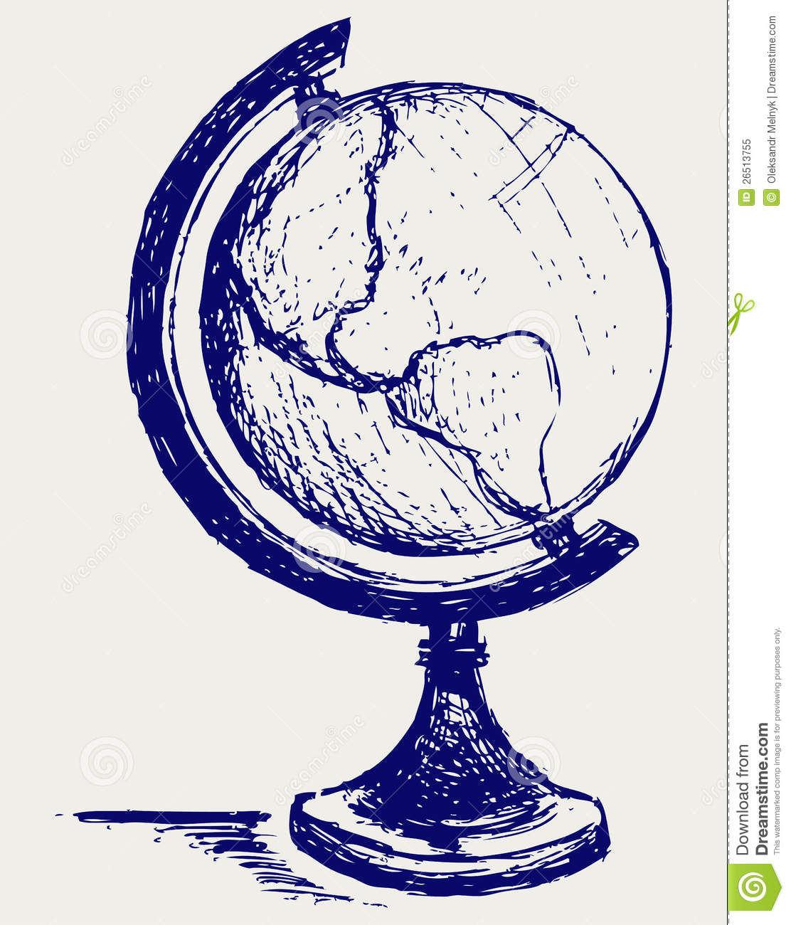 globe sketch royalty free stock photo image 26513755 clipart horseshoe western clip art horseshoe crab