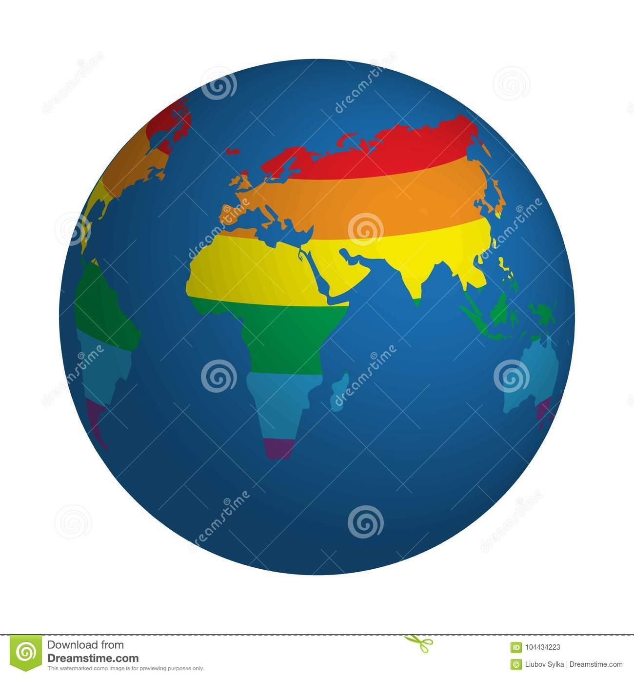 Globe symbol with lgbt rainbow colored world map icon of earth download comp gumiabroncs Choice Image
