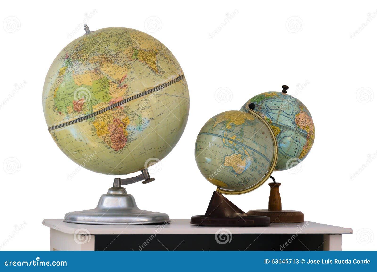 globe terrestre photo stock image 63645713. Black Bedroom Furniture Sets. Home Design Ideas